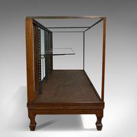Antique Haberdashery Cabinet, Mahogany, Glass, Museum Showcase, Edwardian, 1910 (3 of 9)