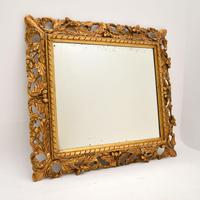 Antique French Carved Giltwood Mirror (2 of 10)