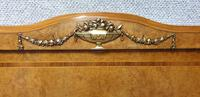 Fab Burr Walnut French Double Bed (5 of 9)