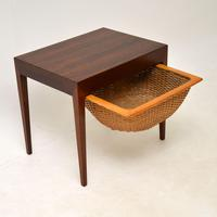 Danish Rosewood Vintage Sewing Table by Severin Hansen (4 of 12)