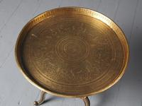 Cast Brass Occasional Table (3 of 9)