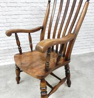Large 19th Century Windsor Armchair (4 of 5)