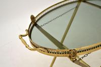 Vintage French Brass Folding Side Table (5 of 8)