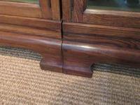 Superb Antique Oak Barrister's Double Glazed Bookcase (10 of 11)