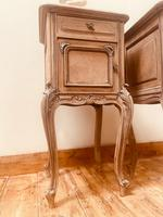 French Antique Bedside Tables / Marble Bedside Cabinets / Louis XV Nightstands (9 of 10)