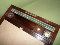 Inlaid Rosewood Writing Box - Extended Office Section c.1870 (9 of 16)