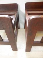 Pair of Oak Luggage Racks (3 of 7)