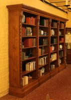 Important Gothic Revival Oak Open Bookcase - 19th Century - France (4 of 11)
