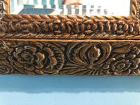 Antique Repousse Detail Cushion Mirror (8 of 10)