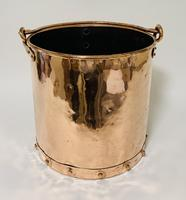 Antique Riveted Copper Bucket (2 of 14)