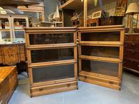 Pair of Globe Wernicke Oak Bookcases (12 of 16)