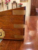 Mid 19th Century Mahogany Writing Box (4 of 7)