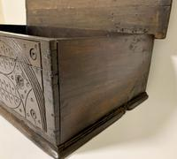 Antique 18th Century Oak Bible Box (14 of 19)