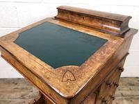 Antique Walnut Davenport Desk (6 of 11)