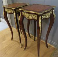 Stunning Pair of French Side Tables Gueridons (2 of 8)