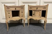 Pair of Bleached Oak Bedside Cabinets (4 of 15)
