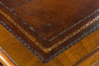 Early Victorian Mahogany Writing Table (8 of 9)