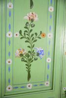Vintage Painted Pine Wardrobe (9 of 12)