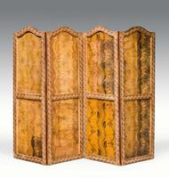 Early 18th Century European Four Folding Screen (2 of 9)