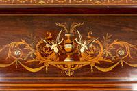 Stunning Rosewood Over Mantle Mirror (6 of 9)