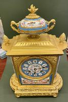 Fine Quality French Ormolu & Porcelain-mounted Mantel Clock by J.B. Delettrez (3 of 5)