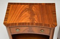 Pair of Antique Regency Style Mahogany Bedside Cabinets (4 of 10)