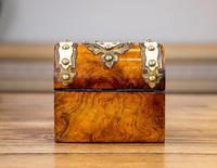 Burr Walnut Perfume Box 1870 (4 of 13)