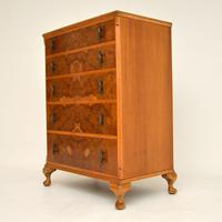 Antique Burr Walnut  Chest of Drawers (5 of 10)