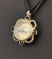 Antique 9ct Gold Compass Pendant, Carnelian (12 of 13)
