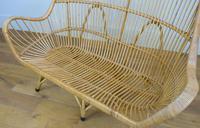 Good Vintage Wicker Rattan Sofa By Rohé Noordwolde (9 of 14)