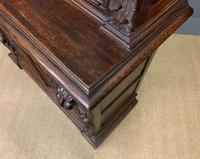 Imposing Carved Oak Bookcase (22 of 23)