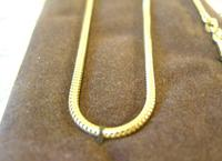 Vintage Pocket Watch Chain 1970s 12ct Gold Plated with Ornate Button Fob Nos (10 of 11)