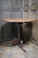 Rare George II Cuban mahogany tripod table (2 of 7)