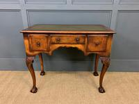 Queen Anne Style Burr Walnut Writing Table (11 of 12)