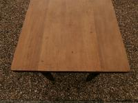 Lovely 19th century pine small farmhouse style kitchen dining table (12 of 12)