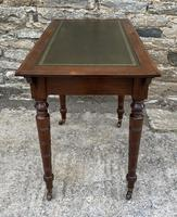 Antique Victorian Walnut Writing Table Desk (12 of 17)