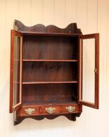Mahogany Glazed Wall Cabinet (4 of 10)