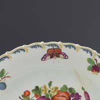 Chelsea Porcelain Feather Edged Large Oval Fruit Dish Gold Anchor (7 of 10)