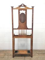 Antique Oak Hall Stand (11 of 11)