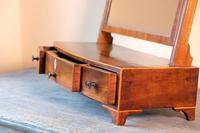 19th Century Inlaid Mahogany Dressing Table Mirror (19 of 23)