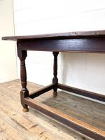 18th Century Antique Joined Oak Table (6 of 10)
