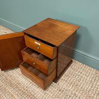 Small Victorian Mahogany Collectors Cabinet (3 of 6)