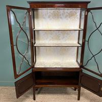 Spectacular Edwardian Chippendale Design Antique Display Cabinet (7 of 9)