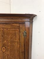 Antique Georgian Oak Hanging Corner Cupboard (9 of 12)