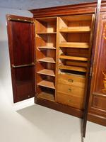 Very Fine Early Victorian Period Inverted Breakfront Wardrobe (3 of 5)