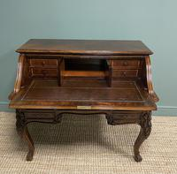 Outstanding Victorian Rococo Rosewood Antique Writing Desk (3 of 11)