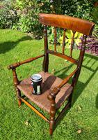 19th Century Victorian Child's Armchair (3 of 7)