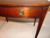 Georgian Mahogany Bow Side Table (6 of 7)