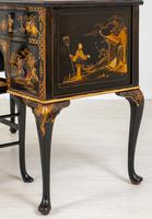 Queen Anne Style Chinoiserie Dressing Table & Chair (12 of 22)