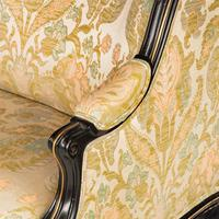 Fine Mid 19th Century Ebonised Mahogany Sofa (5 of 6)